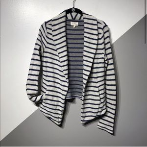Lou Grey S Open Drape Front Cardigan French Terry
